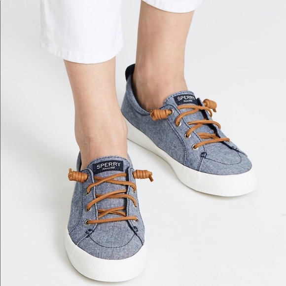 Nwt Sperry Crest Vibe Crepe Chambray